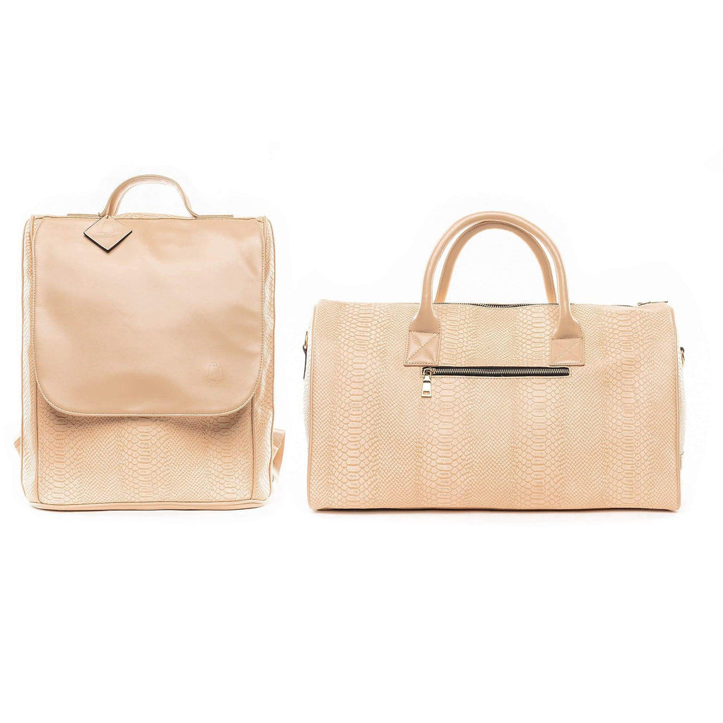 Beige Apollo Travel Set - Tote&Carry