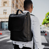 Black Apollo Backpack - Tote&Carry