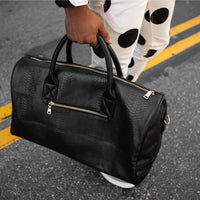 Black Apollo Duffle - Tote&Carry