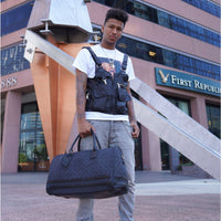 Black Carrara Duffle - Tote&Carry