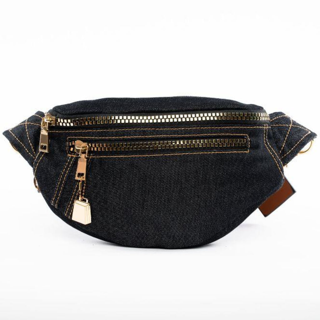 Black Levi Fanny Pack - Tote&Carry