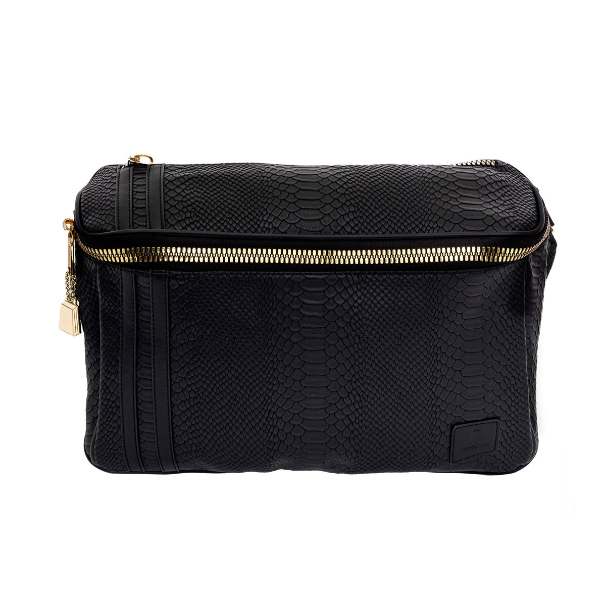Black Apollo Messenger Bag