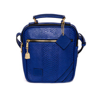 Royal Blue Mini Messenger Bag