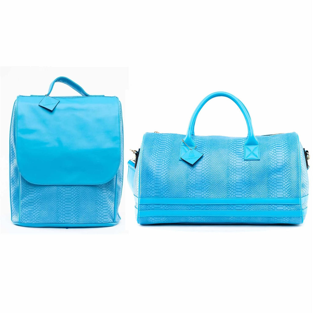 Blue Sky Apollo Travel Set - Regular Duffle + Backpack Tote&Carry
