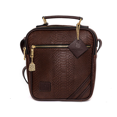 Chocolate Apollo Mini Messenger Bag