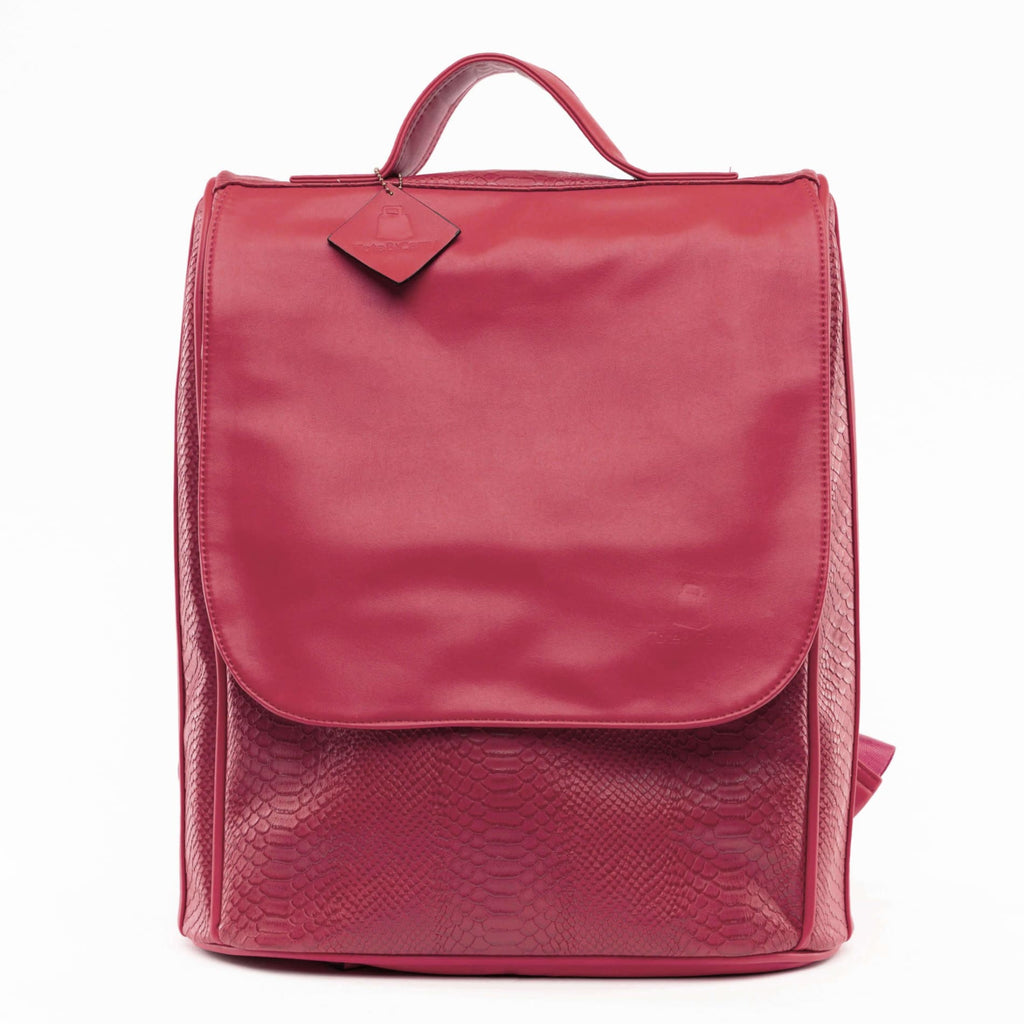 Burgundy Apollo Backpack - Tote&Carry