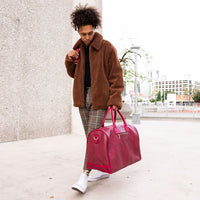 Burgundy Apollo Travel Set - Tote&Carry