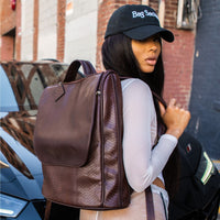 Chocolate Apollo Backpack - Tote&Carry