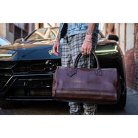 Chocolate Apollo Duffle - Tote&Carry