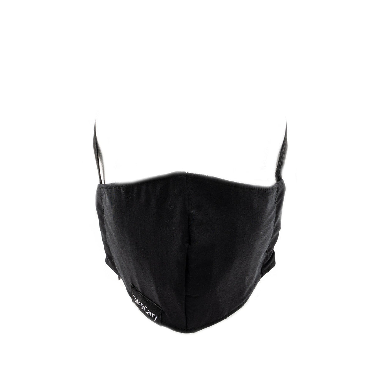 Face Masks - Solid Black Tote&Carry