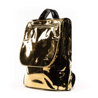 Gold Patent Apollo I Backpack