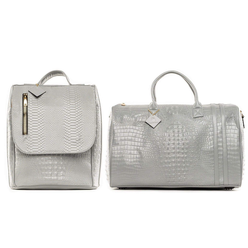 Grey Apollo II Travel Set - Tote&Carry