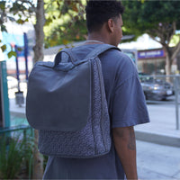Grey Carrara Backpack - Tote&Carry