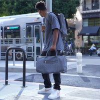 Grey Carrara Duffle - Tote&Carry