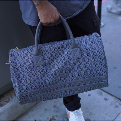 Grey Carrara Duffle - Reg - Weekend Bag Tote&Carry