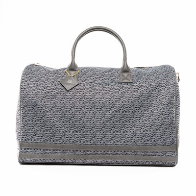 Grey Carrara Duffle - XL - Travel Bag Tote&Carry