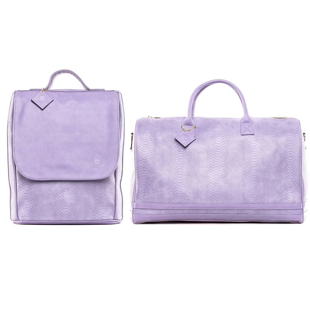Lavender Apollo Travel Set - Tote&Carry