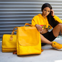 Mustard Apollo Backpack - Tote&Carry