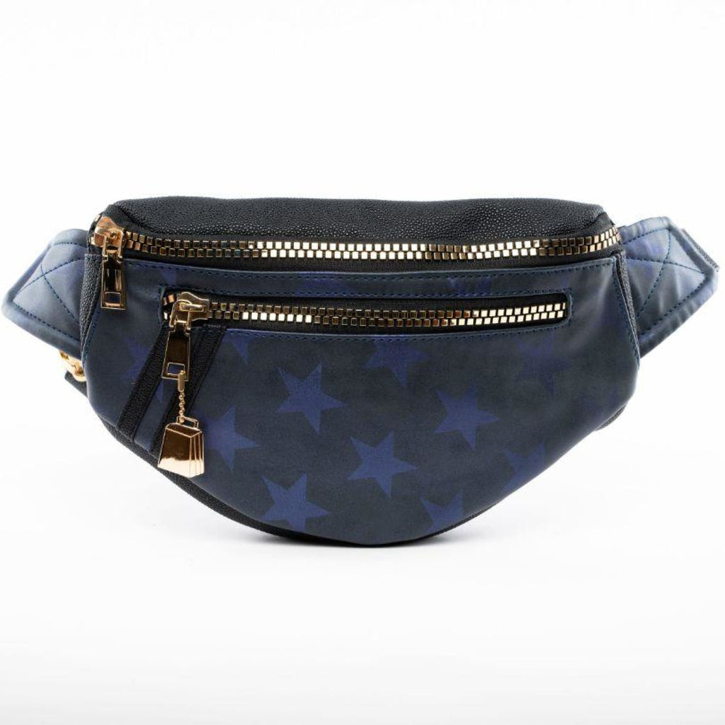 Navy Star Fanny Pack - Tote&Carry