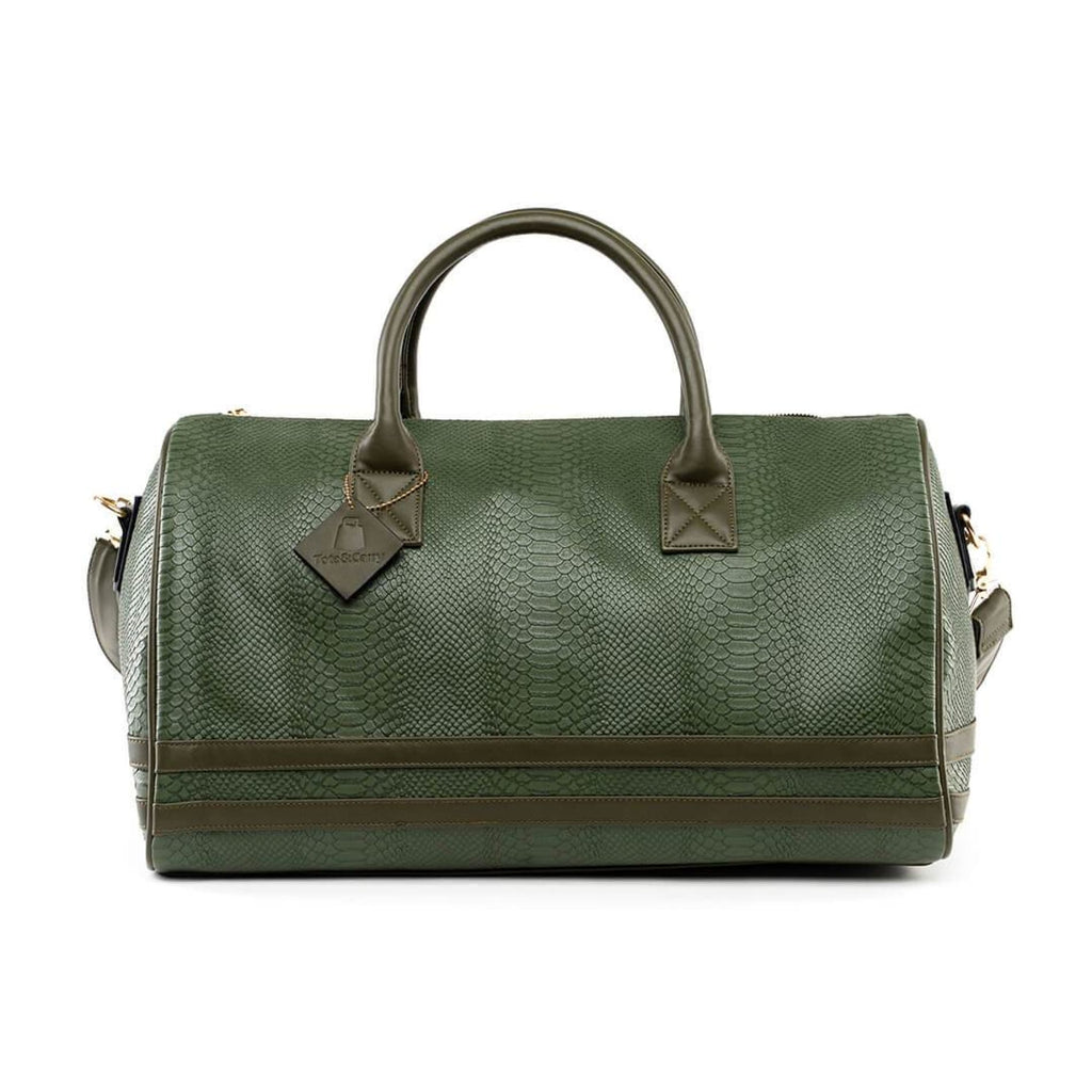 Olive Apollo Duffle - Reg - Weekend Bag Tote&Carry