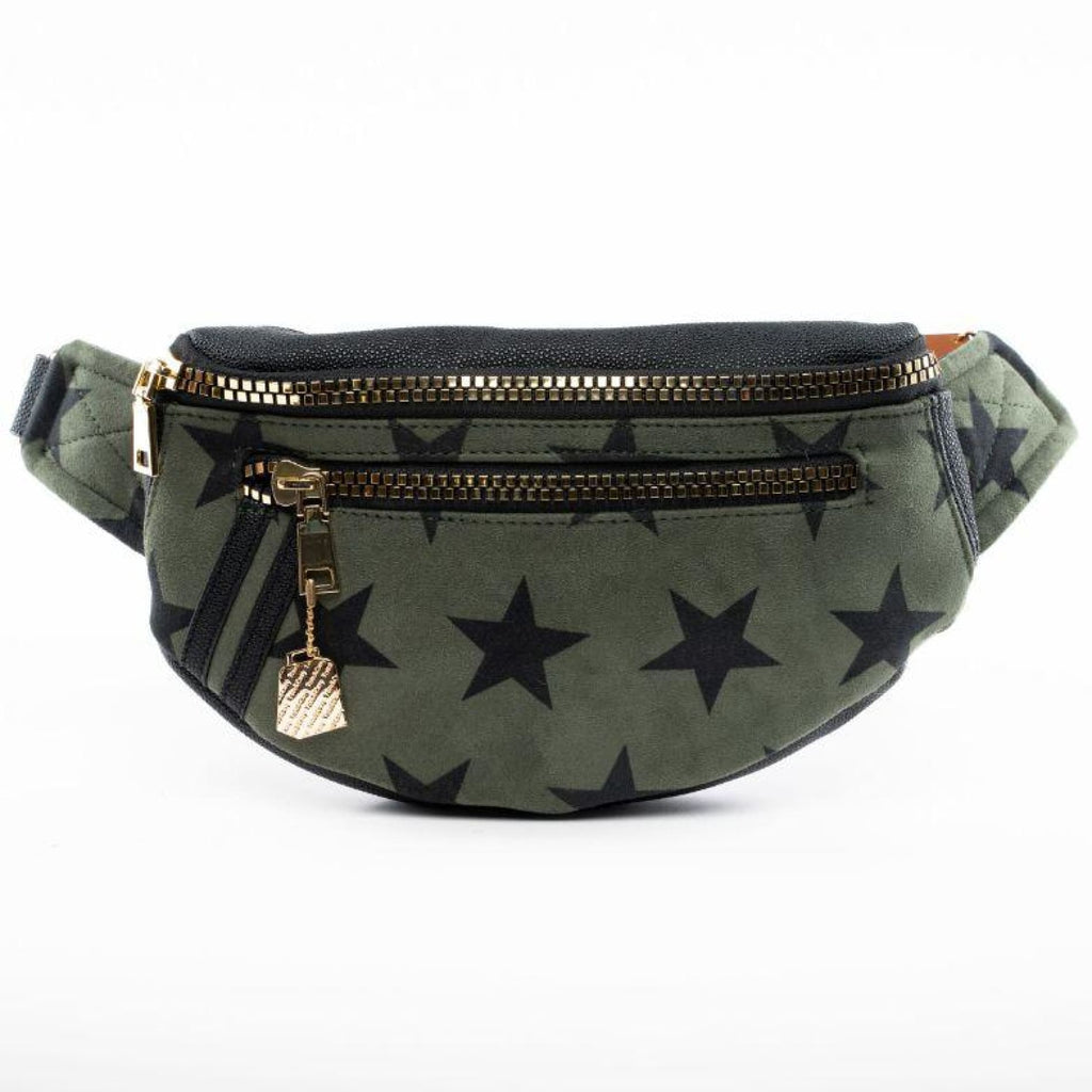 Olive Star Fanny Pack - Tote&Carry