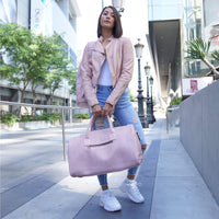 Pink Apollo Duffle - Regular - Weekend bag Tote&Carry