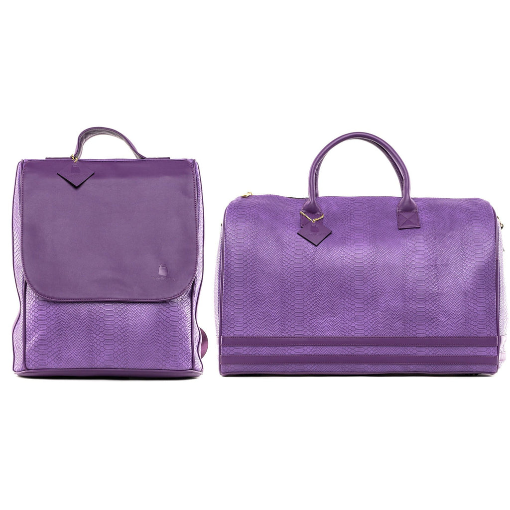 Purple Apollo Travel Set - Tote&Carry