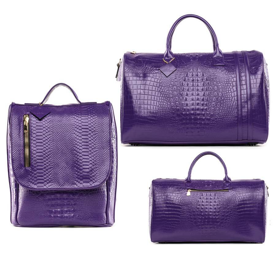 Purple Apollo II Travel Set