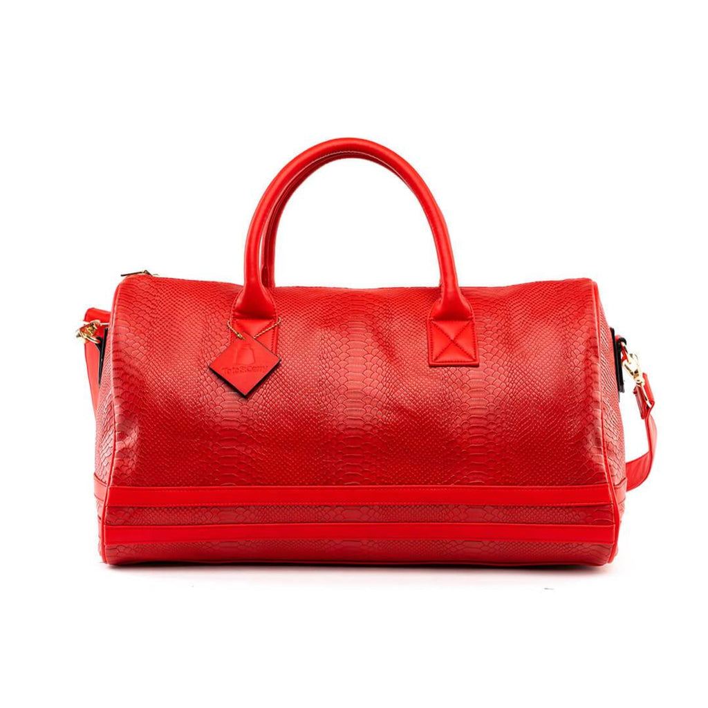 Red Apollo Duffle - Reg - Weekend Bag Tote&Carry