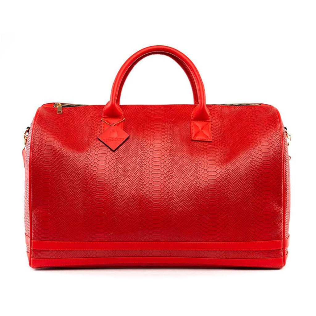 Red Apollo Duffle - XL - Travel Bag Tote&Carry