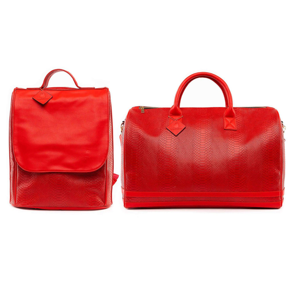 Red Apollo Travel Set - Tote&Carry