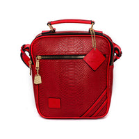 Red Apollo Mini Messenger Bag