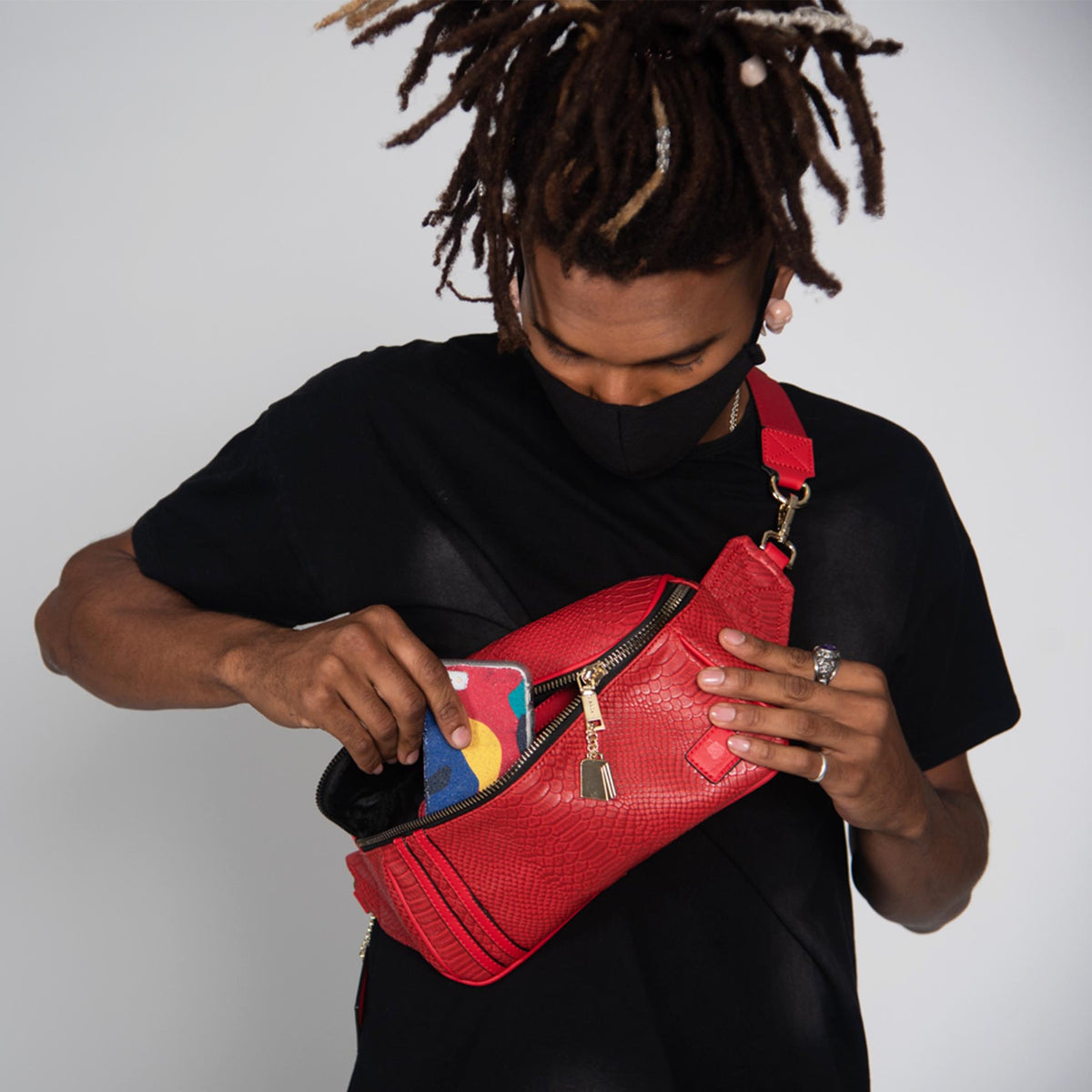 Red Apollo Envelope Bag
