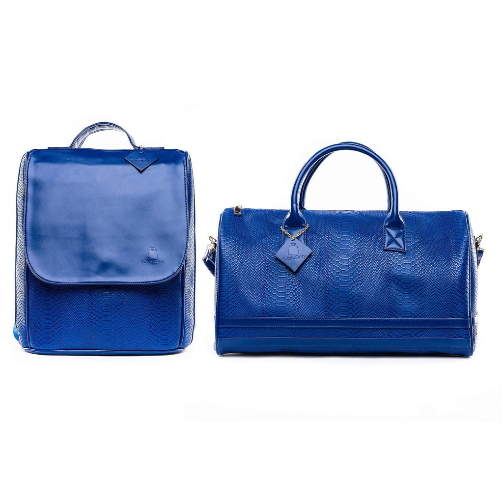Royal Blue Apollo Travel Set - Tote&Carry
