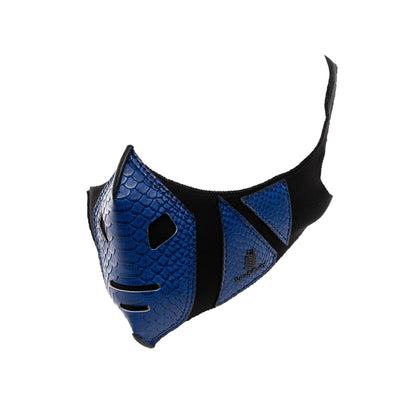 Royal Blue Gladiator Face Mask - Tote&Carry