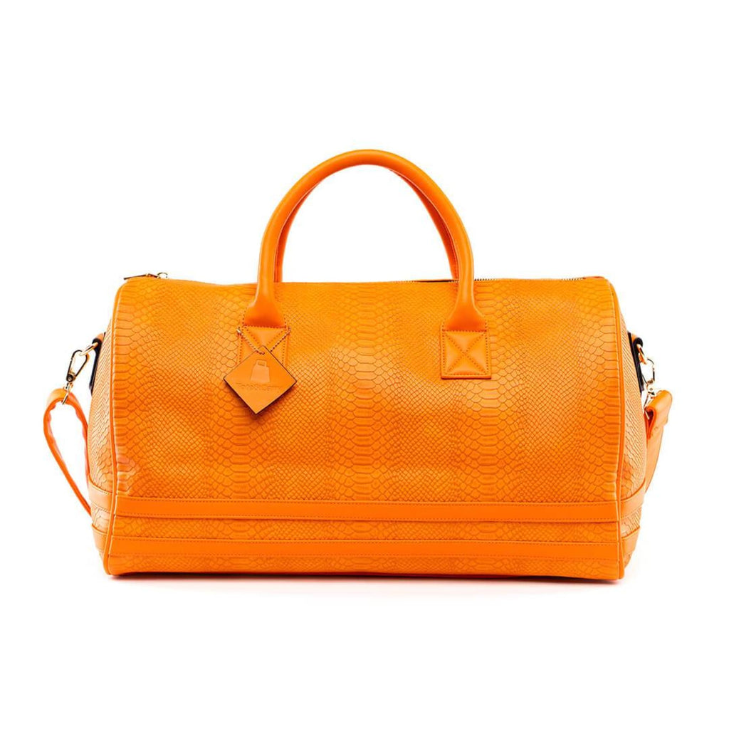 Tangerine Apollo Duffle - Reg - Weekend Bag Tote&Carry