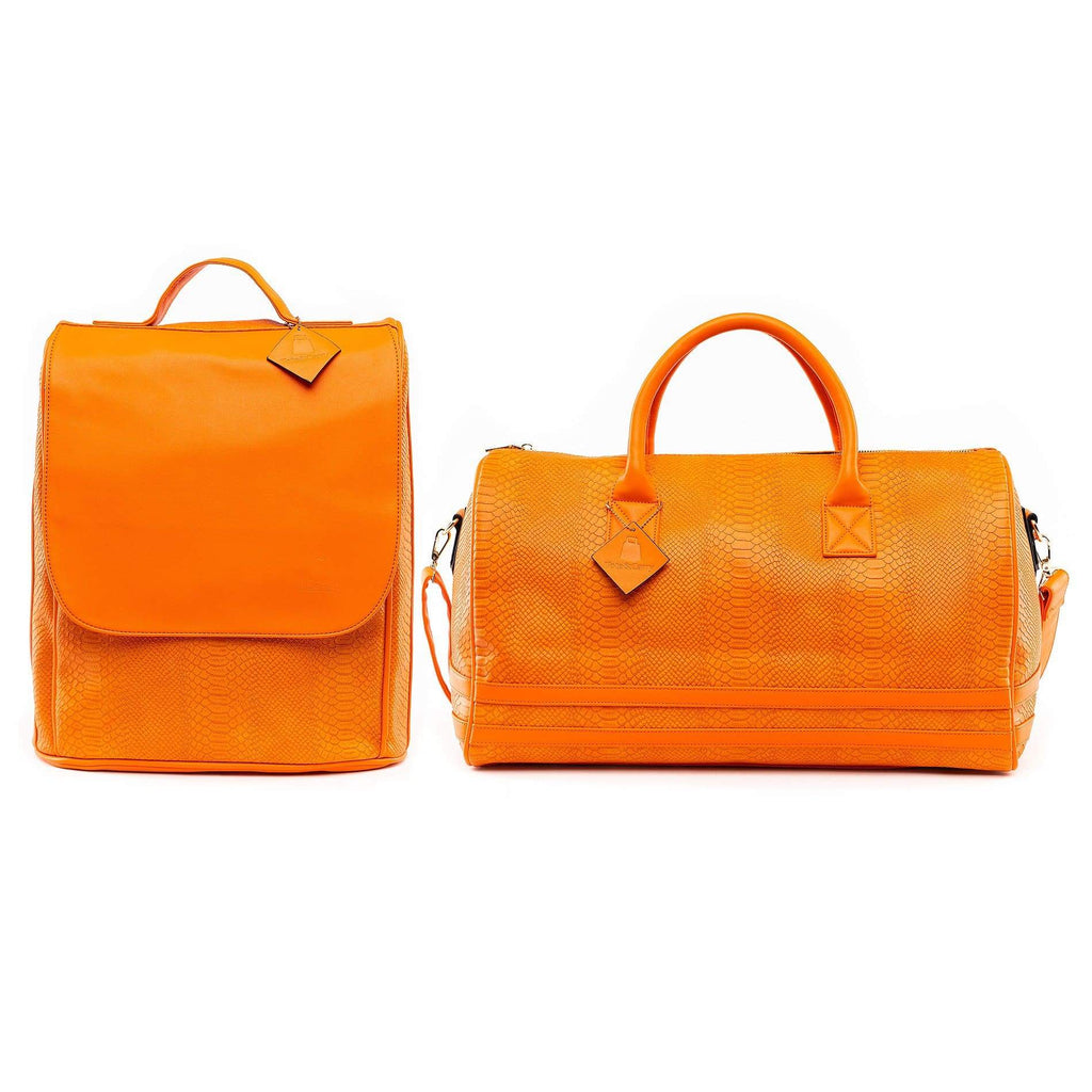 Tangerine Apollo Travel Set - Tote&Carry