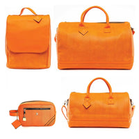 Tangerine Apollo Travel Set