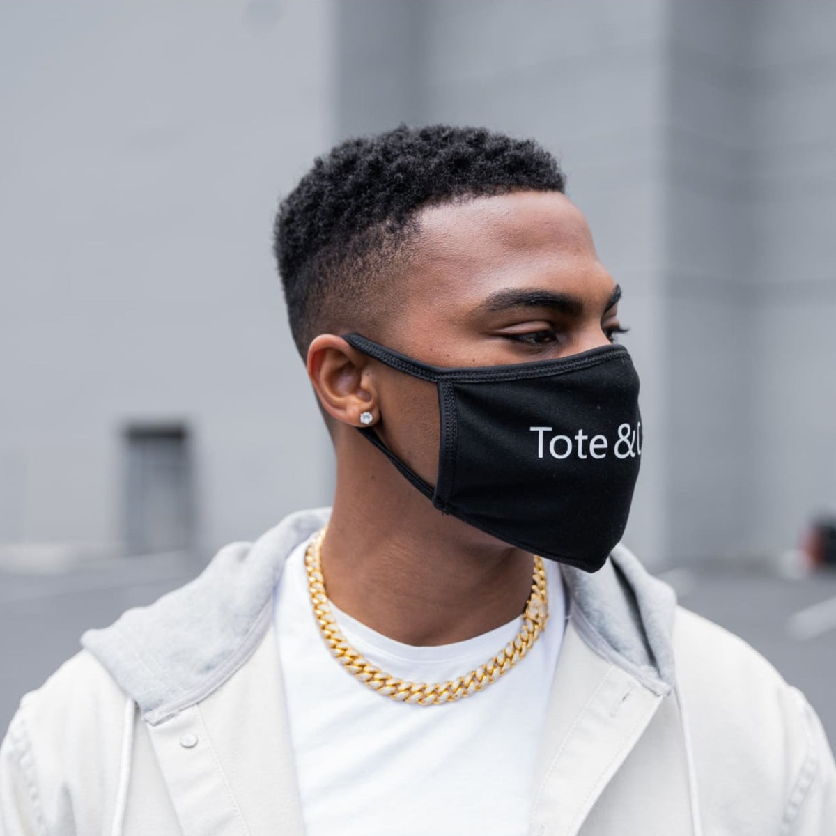 Tote&Carry Black Cotton Face Mask - Tote&Carry