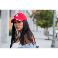 Tote&Carry Red Curved Baseball Cap - Tote&Carry
