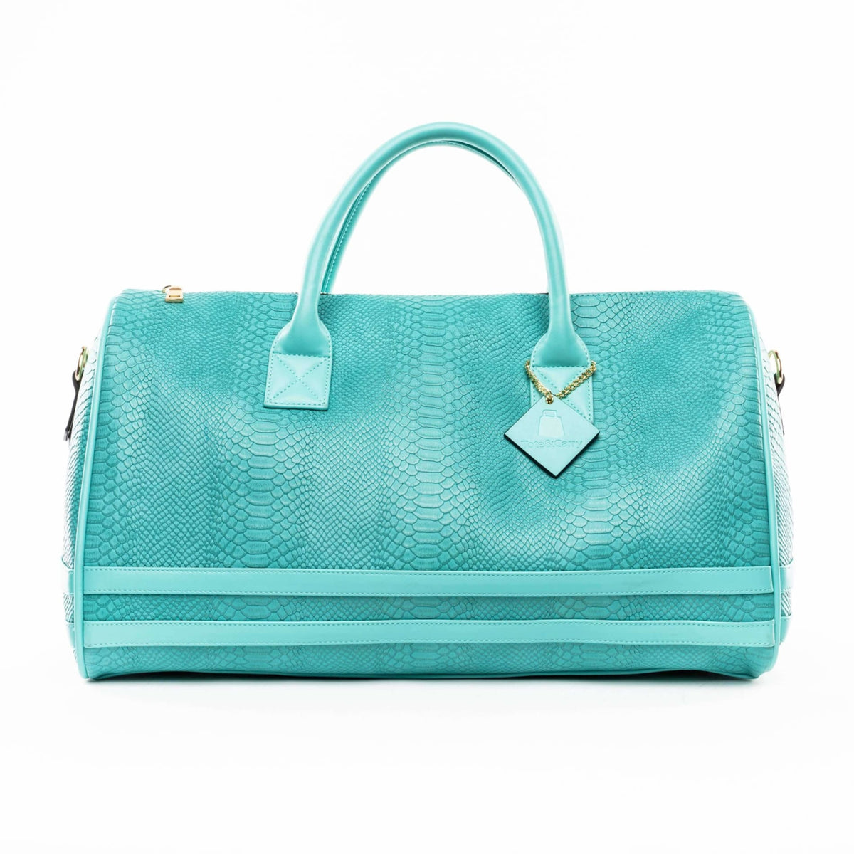 Turquoise Apollo Duffle - Tote&Carry