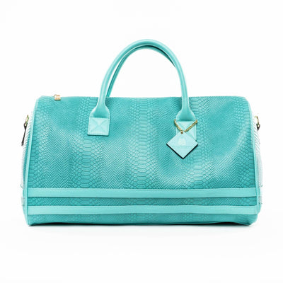 Turquoise Apollo Duffle - Reg - Weekend Bag Tote&Carry