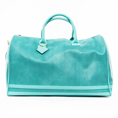 Turquoise Apollo Duffle - XL - Travel Bag Tote&Carry