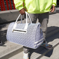White Carrara Travel Set - Tote&Carry