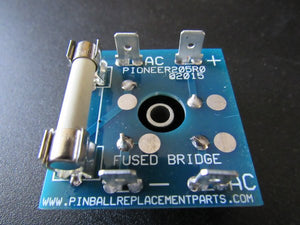 Fused Bridge Module Replaces Troublesome Williams Pinball Rectifier in Backbox