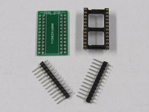 EPROM Adapter Board Converts 2532 to 2732 Pinout