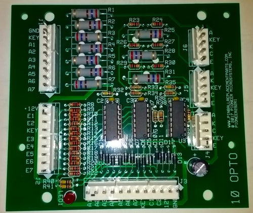 WMS 10 Opto Board Replaces A-15430 and Similar, Duplicate Design