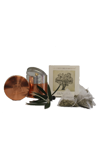 Gift Set - Olive Leaf Tea + Canister