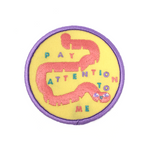 Pay Attention to Me patch by Julian Glander