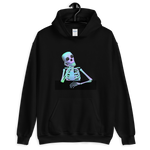 Waiting Skeleton - Hoodie